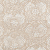 Natural Instincts Dahlia Oat Wallpaper GR1018