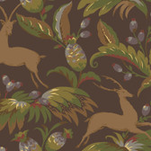Natural Instincts Bengali Umber Wallpaper NT8942