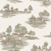 Houndstooth Fairfield Ridge Cotton Pink Wallpaper ML1200