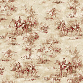 Houndstooth Saratoga Tan Wallpaper ML1210