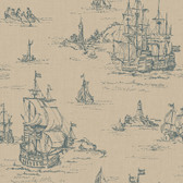 Houndstooth Clipper Dune Wallpaper ML1240