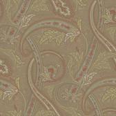Houndstooth Courtney Paisley Cedar Wallpaper ML1252
