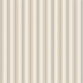 Houndstooth Farleigh Stripe Fossil Wallpaper ML1299