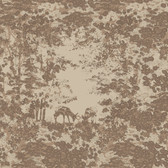 Houndstooth Fawn Grove Coffee Wallpaper ML1304