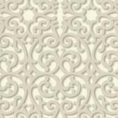 TD4726 Dimensional Effects Fortuna Cream Wallpaper