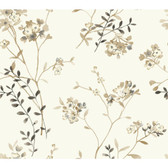 Watercolors WT4536 SOFT BLOSSOMS  Wallpaper
