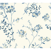 Watercolors WT4537 SOFT BLOSSOMS  Wallpaper