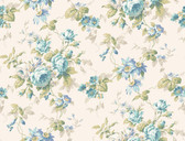 Callaway Cottage CT0801 Rose Floral Trail Wallpaper