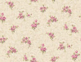 Callaway Cottage CT0811 Full Floral Scroll Wallpaper