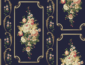 Casabella II BA4502 Floral Panel Wallpaper