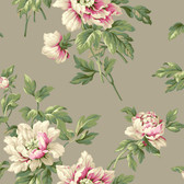 Casabella II BA4612 Document Floral Wallpaper