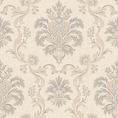 Arlington EL3932 Bohemian Damask Wallpaper