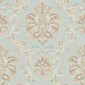 Arlington EL3933 Bohemian Damask Wallpaper