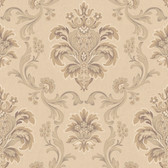 Arlington EL3935 Bohemian Damask Wallpaper