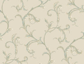 HYDE PARK PL4613 FLORAL SCROLL COMPANION WALLPAPER