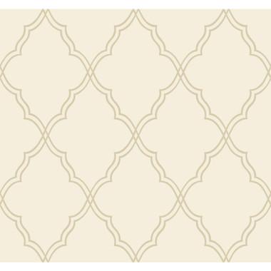 CX1226 Candice Olson Dimensional Surfaces Moroccan Lattice Sand
