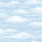 Chesapeake BYR47602 Fluff Haze Puffy Clouds Wallpaper