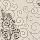 Harmony Bone Geo Medallion Wallpaper HMY57513