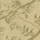 Harmony Gold Metal Leaf Wallpaper HMY57535