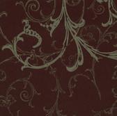 Harmony Burgundy Swirl Wallpaper HMY57655