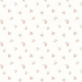 Dollhouse VIII 487-68813 Debbie Blush Small Rose Toss wallpaper