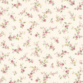 Dollhouse VIII 487-68815 Fiona Pink Sprigs Toss wallpaper