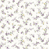 Dollhouse VIII 487-68816 Fiona Purple Sprigs Toss wallpaper