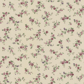 Dollhouse VIII 487-68818 Fiona Mauve Sprigs Toss wallpaper