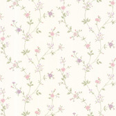 Dollhouse VIII 487-68862 Deanna Lavender Trail wallpaper