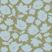 Echo Design 566-43944 Freesia Beige Fun Floral wallpaper