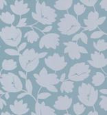 Echo Design 566-43945 Freesia Light Grey Fun Floral wallpaper