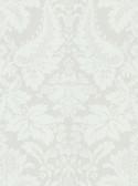 Echo Design 566-43952 Lopeka White Modern Damask wallpaper