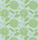 Echo Design 566-43956 Resort Green Modern Floral wallpaper