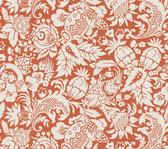 Echo Design 566-43965 Bali Orange Scrolling Pattern wallpaper