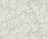 Echo Design 566-43967 Bali Light Grey Scrolling Pattern wallpaper