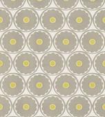 566-44900 Flower Power Light Grey Retro Floral wallpaper