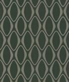 566-44907 Eclipse Brown Diamond Geometric wallpaper