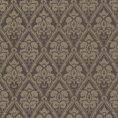 566-44923 Liesel Brown Damask wallpaper