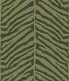 Echo Design 566-44927 Tailored Zebra Brown Herringbone Zebra wallpaper