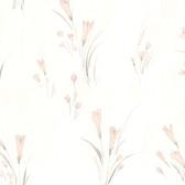 436-12810 - Jolie Mauve Lily Texture wallpaper
