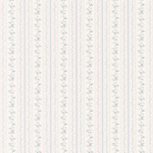436-14465 - Marta Light Blue   Dainty Floral Stripe wallpaper