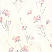 436-37400 - Veldt Lavender Chic Floral wallpaper