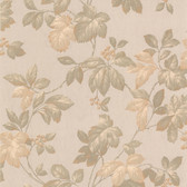 436-45114 - Muscat Taupe Berry Trail wallpaper