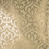 2542-20753 Venus Brass Foil Mini Damask wallpaper