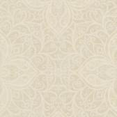 2542-20743 Oberon Brass Moroccan Medallion wallpaper