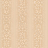 Simply Satin VI Camden Ornate Stripe Sepia Wallpaper 990-65003