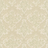 Simply Satin VI Cotswold Floral Damask Hazelwood Wallpaper 990-65060