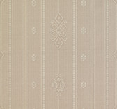 481-1465 Pasquale Taupe Embellished Stripe wallpaper