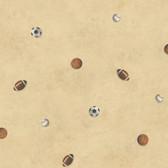 Chesapeake Sports Balls Toss Oat Wallpaper TOT47192