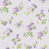 Captiva Lavender Floral Toss
